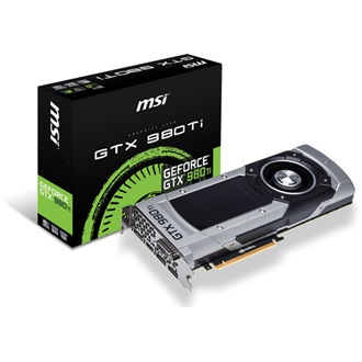 MSI GeForce GTX 980 Ti 6GB GDDR5 PCI-E x16