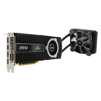MSI GeForce GTX 980 Ti Sea Hawk 6GB GDDR5 384bit grafikus kártya