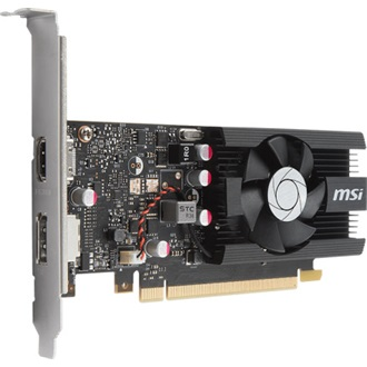 MSI GeForce GT 1030 OC 2GB GDDR5 64bit low profile grafikus kártya