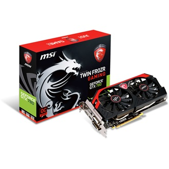 MSI Geforce GTX780 OC Twin Frozr 3GB GDDR5 384bit PCI-E x16