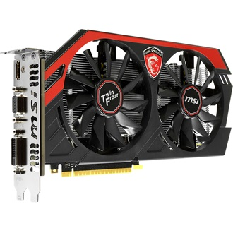 MSI Geforce GTX750 OC Twin Frozr 1GB GDDR5 128bit PCI-E x16