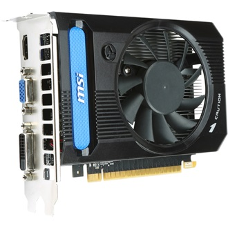 MSI Geforce GT630 OC 2GB GDDR3 64bit PCI-E x16
