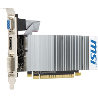 MSI GeForce 210 TC 512MB GDDR3 64bit low profile grafikus kártya