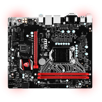MSI H110M GAMING desktop alaplap