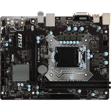 MSI H110M PRO-D desktop alaplap
