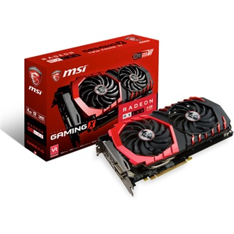 MSI RX 480 GAMING X 4G, PCI-E x16, DX12, 7100mhz/1316mhz, 256bit