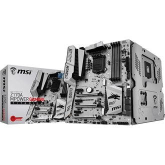 MSI Z170A MPOWER GAMING TITANIUM desktop alaplap