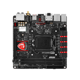 MSI Z97I GAMING ACK desktop alaplap