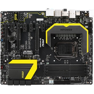 MSI Z87 MPOWER SP desktop alaplap