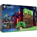 Microsoft Xbox One S 1000GB játékkonzol + Minecraft Limited Edition