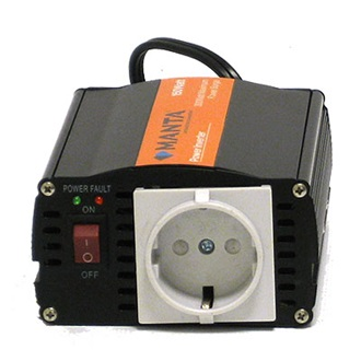 Manta 150W DC to AC Power Inverter (12V DC - 230V AC)