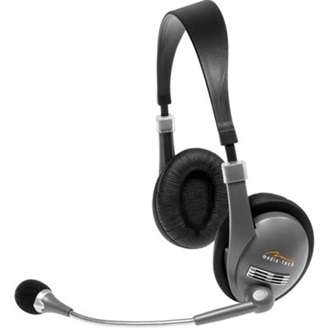 MEDIA-TECH CORONA stereo headset ezüst