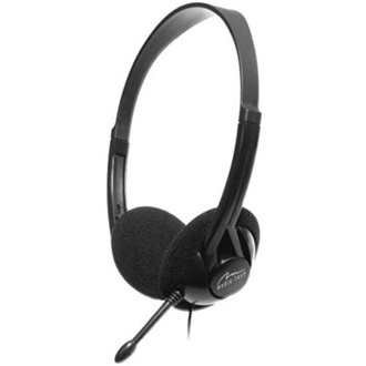 MEDIA-TECH Ursa stereo headset fekete