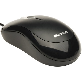 Microsoft Basic Optical Mouse for Business PS/2 + USB optikai egér fekete