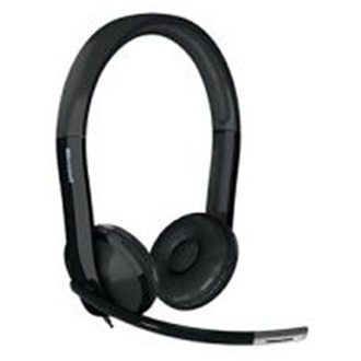 Microsoft LifeChat LX-6000 stereo headset fekete