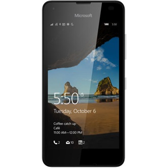 Microsoft Lumia 550 LTE MLSZ design, Black (Windows Phone)