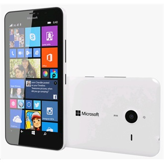 Microsoft Lumia 640 XL LTE, White (Windows Phone)