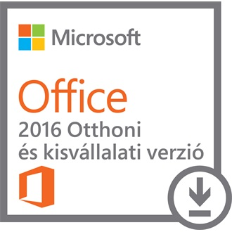 Microsoft Office 2016 MAC Home & Business P2 ML ENG szoftver