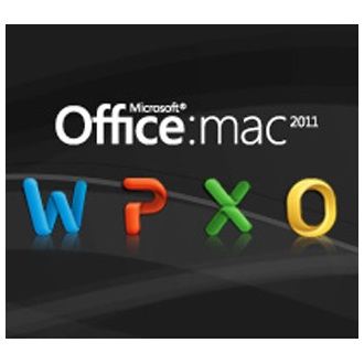 Microsoft Office Mac Home & Business 1PK 2011 English Eurozone Medialess