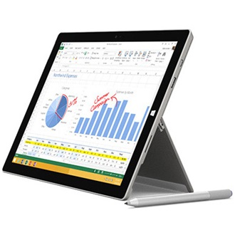 "Microsoft Surface Pro 3 12"" 128GB tablet fekete"
