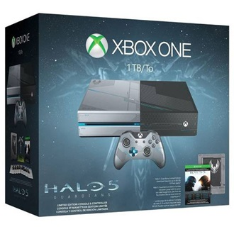 Microsoft Xbox One 1000GB fekete + Halo 5 Guardians Limited Edition