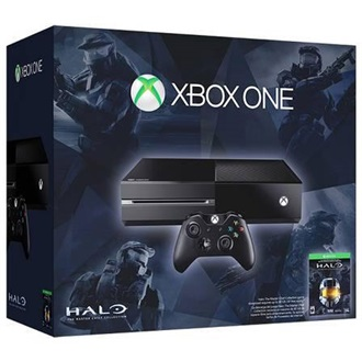 Microsoft Xbox One 500GB fekete + The Master Chief Collection