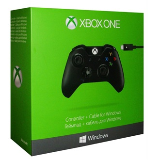 Microsoft Xbox One PC controller fekete