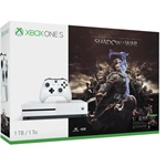 Microsoft Xbox One S 1000GB játékkonzol + Middle-earth: Shadow of War