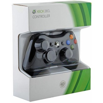 Microsoft Xbox 360 controller (fekete)