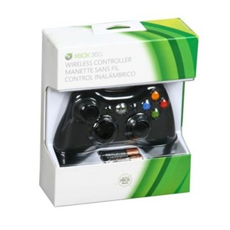 Microsoft Xbox 360 wireless Gamepad fekete