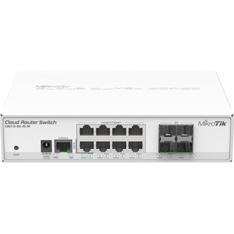 MikroTik CRS112-8G-4S-IN 8port GbE LAN 4port SFP uplink Cloud Router Switch