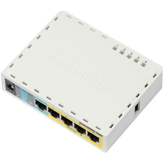 MikroTik RB750UP router