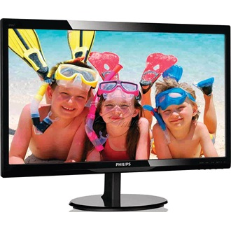 "Philips 246V5LHAB 24"" LED monitor fekete"