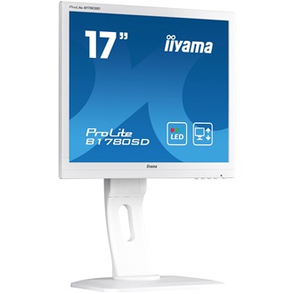 "Monitor Iiyama Prolite B1780SD 17"" TN LED, DVI, Speakers, 5ms, white"
