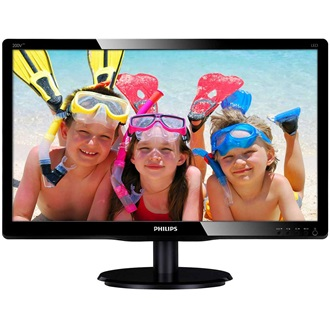 "Philips 200V4LAB 19.5"" LED monitor fekete"