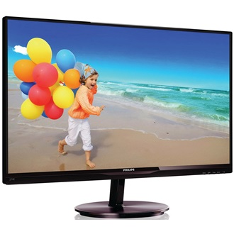 "Monitor Philips E-line 274E5QDAB/00 27"" AH-IPS, LED, FHD, DVI, HDMI/MHL, black"