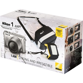 NIKON 1 AW1 Adventure KIT Ezüst