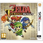 Nintendo 3DS The Legend of Zelda: Tri Force Heroes játékszoftver