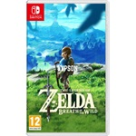 Nintendo Switch Video Game - The Legend of Zelda: Breath of the Wild játékszoftver