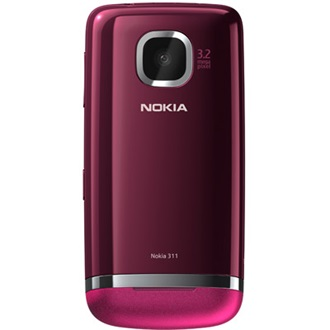 Nokia Asha 311 Rose Red okostelefon
