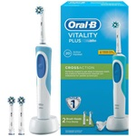 Oral-B D12.523 Vitality Plus elektromos fogkefe CrossAction 1+1 fejjel
