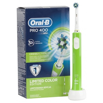 Oral-B Pro 400 D16.513 elektromos fogkefe CrossAction fejjel