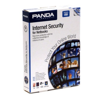 PANDA Internet Security for Netbooks - Retail Box - for up to 1 PC - 1 year service