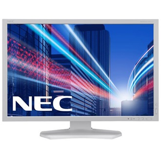 "NEC Multisync PA242W 24"" IPS LED monitor fehér"