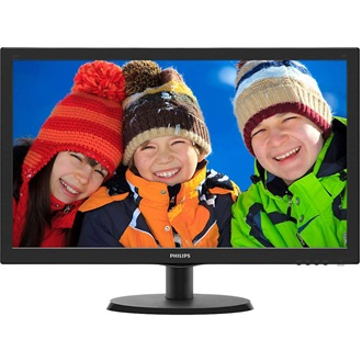"Philips 223V5QSB6 21.5"" LED monitor fekete"