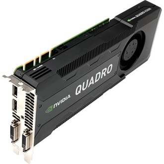PNY QUADRO K5000 MAC 2ER PACK 4GB GDDR5 PCI-E X16 2X DVI 2X DP