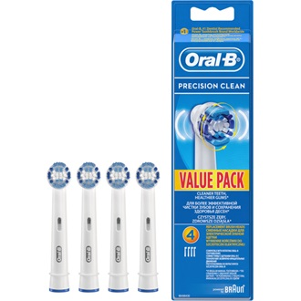 Oral-B EB 20-4  Precision Clean 3+1DB fogkefe pótfej