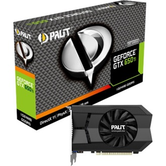 Palit GeForce GTX 650 Ti 1GB GDDR5 128bit PCI-E x16