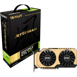 Palit GeForce GTX 970 JetStream 4GB GDDR5 256bit grafikus kártya