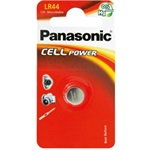 Panasonic Cell Power alkáli gomb (LR44/AG13/A76) 120mAh elem 1db Blister